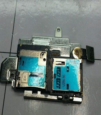 S3 Samsung Simcard Reader Memory Card Flex I9300