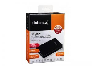 INTENSO 2.5 EXT 500GB HARDRIVE 3.0 4034303014422