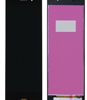 Sony Xperia Z3 D6603 D6643 Touch Screen Digitiser & LCD – BLACK  UK