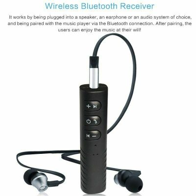 Bluetooth Receiver 35mm Jack To Bluetooth Adapter AUX To Wireless Music Stereo 133152986410 2