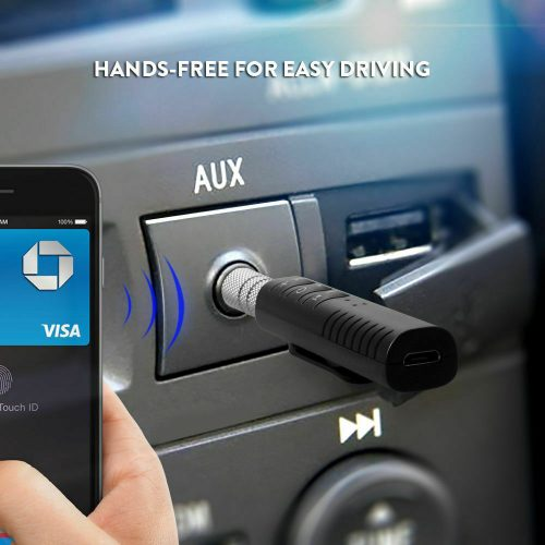 Bluetooth Receiver 35mm Jack to Bluetooth Adapter AUX to Wireless Music Stereo 133152986410