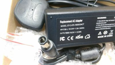 Dell PA21 195V 334A 7450 Diamond TIP DELL LAPTOP CHARGER octagonal 132580538051 2