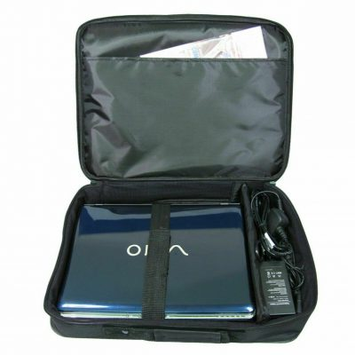 LAPTOP BAG BLACK 17 BRAND NEW 133129968463 2