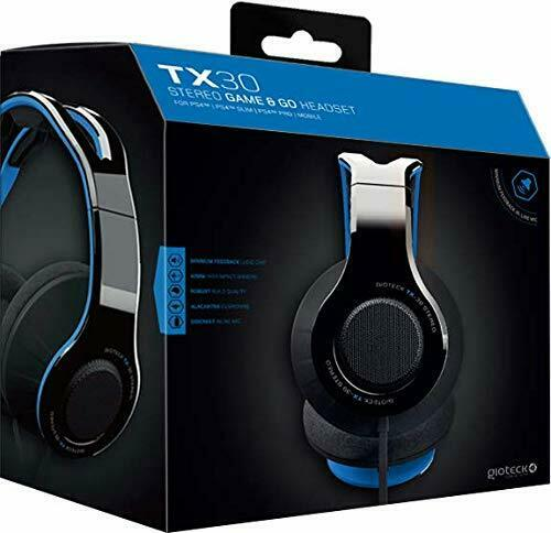PS4 HEADSET TX 30 Stereo Gaming Go Headset PS4 133100623864 2