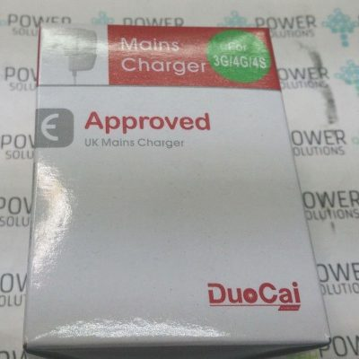 UK Wired Mains Charger Wall Plug Adapter For Apple IPhone 4 4S 4G 3GS 3G IPad 132403827525 2