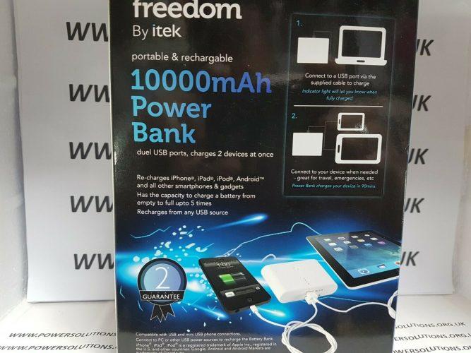 iTek I97005 USB Power Battery Bank 10000 mAh black power bank 133100665195 2
