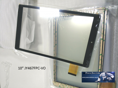 "Alba 10Nou Tablet Touch Screen Digitizer  Lens WITH ADHESIVE 10"" Inch New  FAST"