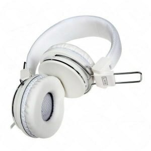 COMFY WHITE HEADPHONES MIC VOLUME CONTROL PS4 COMPATIBLE SKYPE 133143037456 2