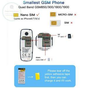 Smallest Mobile Phone L8Star BM90 Tiny Mini Mobile BLACK UNLOCKED UK STOCK FASTP 133102650156 2
