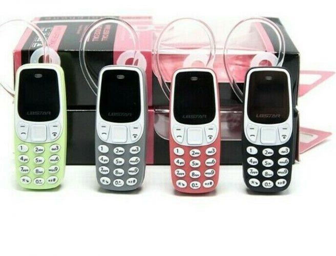 smallest mobile phone L8Star BM90 Tiny mini mobile BLACK UNLOCKED UK STOCK FASTP 133102650156 3