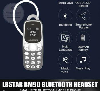 Smallest Mobile Phone L8Star BM90 Tiny Mini Mobile BLACK UNLOCKED UK STOCK FASTP
