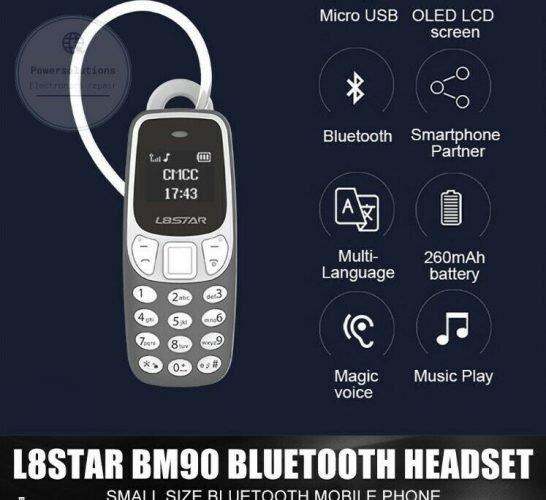 smallest mobile phone L8Star BM90 Tiny mini mobile BLACK UNLOCKED UK STOCK FASTP 133102650156