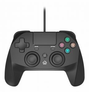 PS4 Snakebyte Game:Pad 4 S – Black – For Use With PS4/Slim/Pro