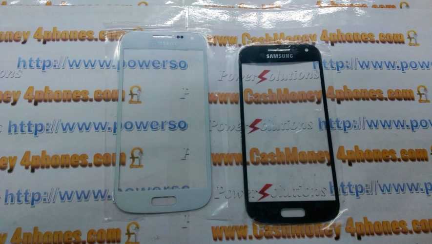 Variation of s4 i9195 OUTER SCREEN GLASS LENS SAMSUNG S4 MINI WHITE OR BLACK 131792411739 ad03