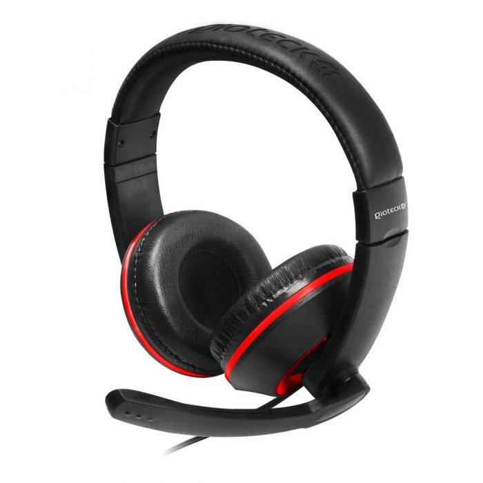 Gioteck XH 100 headsets Wired 35 mm 18 PCGaming Circumaural Binaural Head band B019OUZRR2